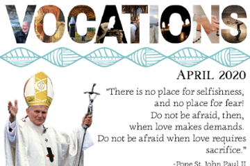 Vocations Newsletter April 2020