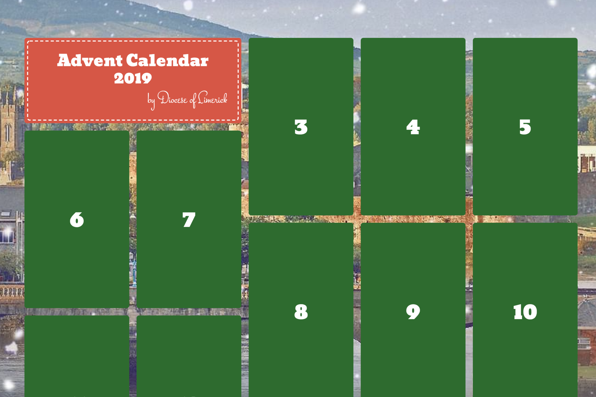 Our Advent Calendar is now live!