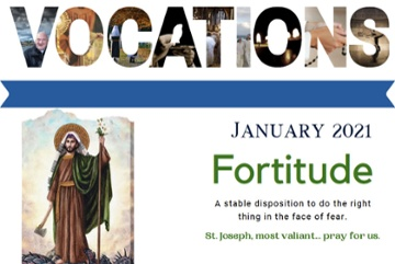 Vocations Newsletter January 2021
