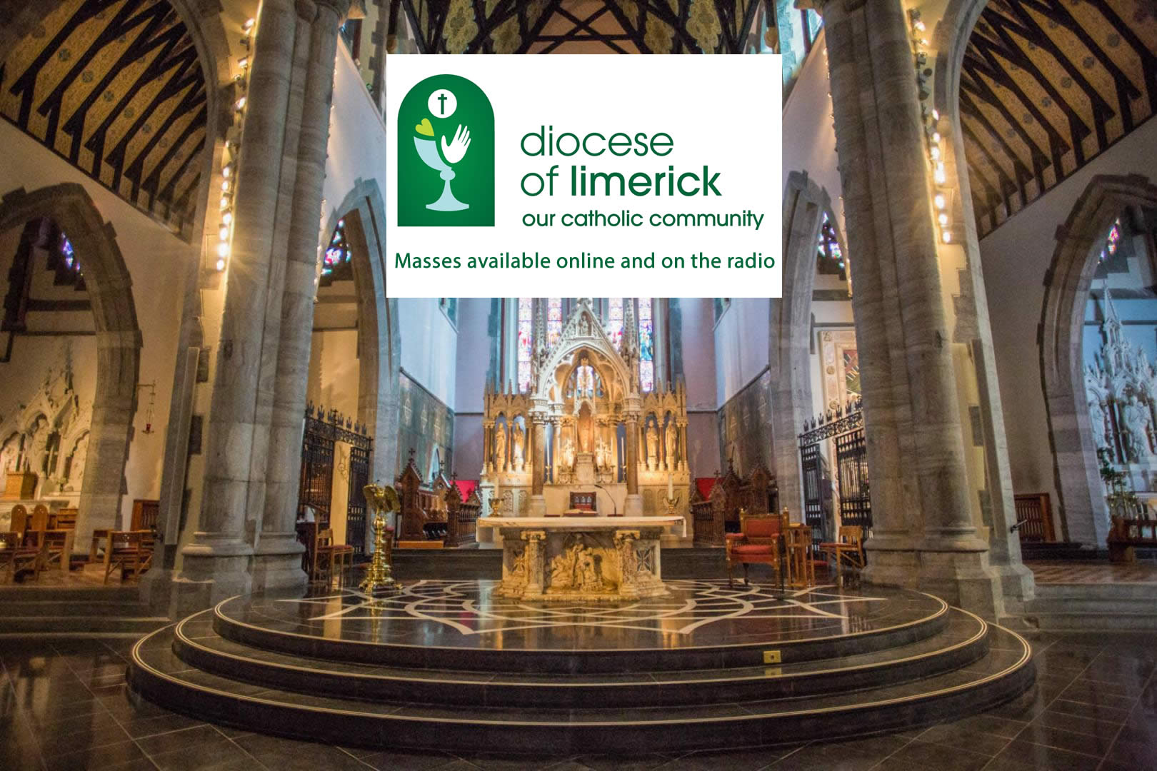 Masses streamed online in the Diocese of Limerick