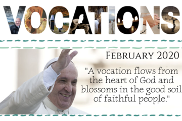 Vocations Newsletter February 2020