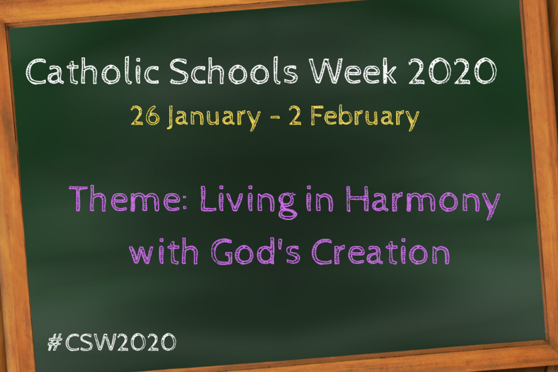 New audio and Resources for Friday of Catholic Schools Week 2020