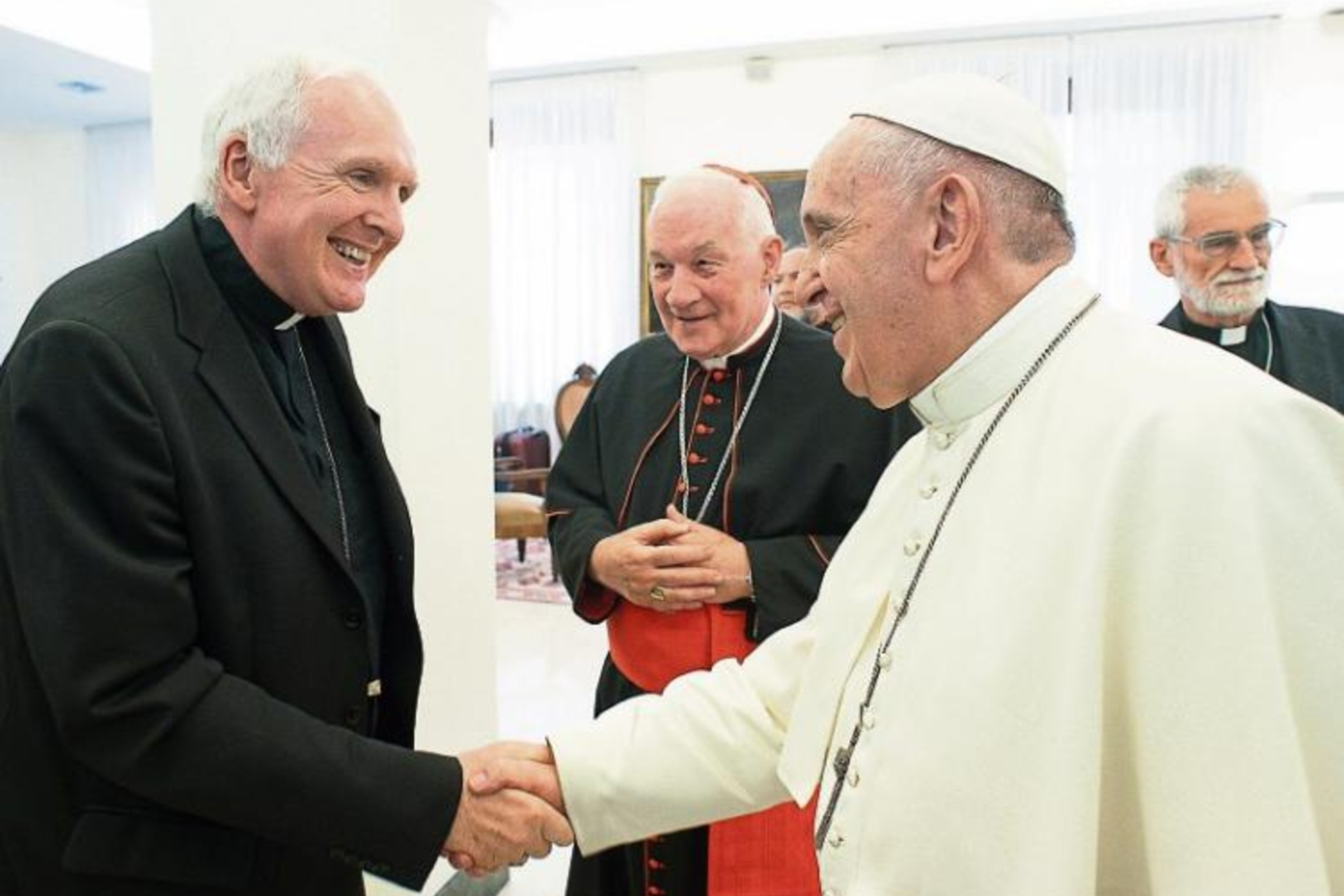 Pope conveys special fondness for Limerick, says Bishop Leahy after lunch with Pontiff