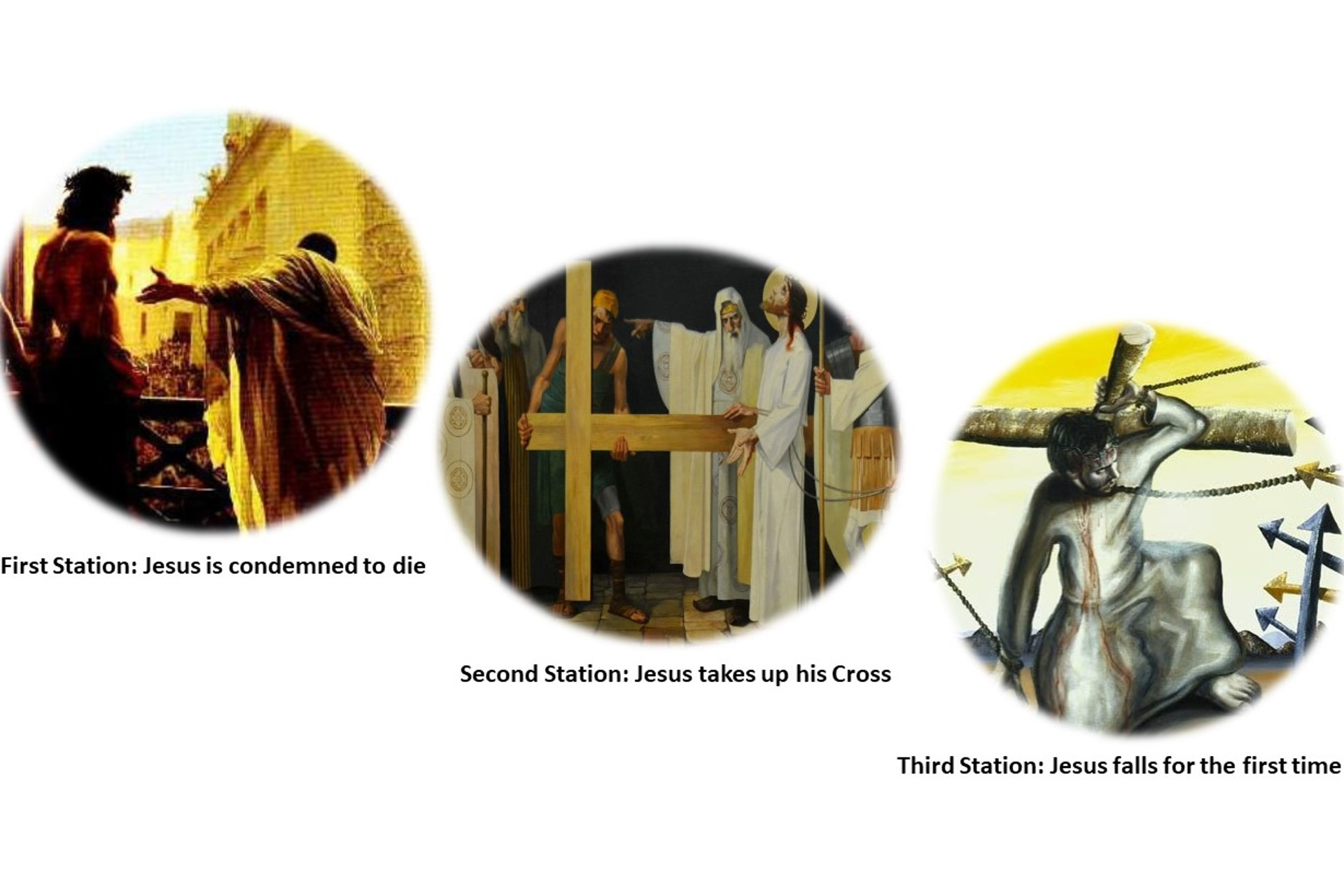 Reflecting on the Stations of the Cross (No 1)