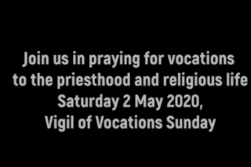 Vigil for Vocations