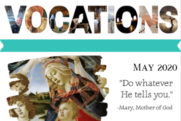 Vocations Newsletter May 2020