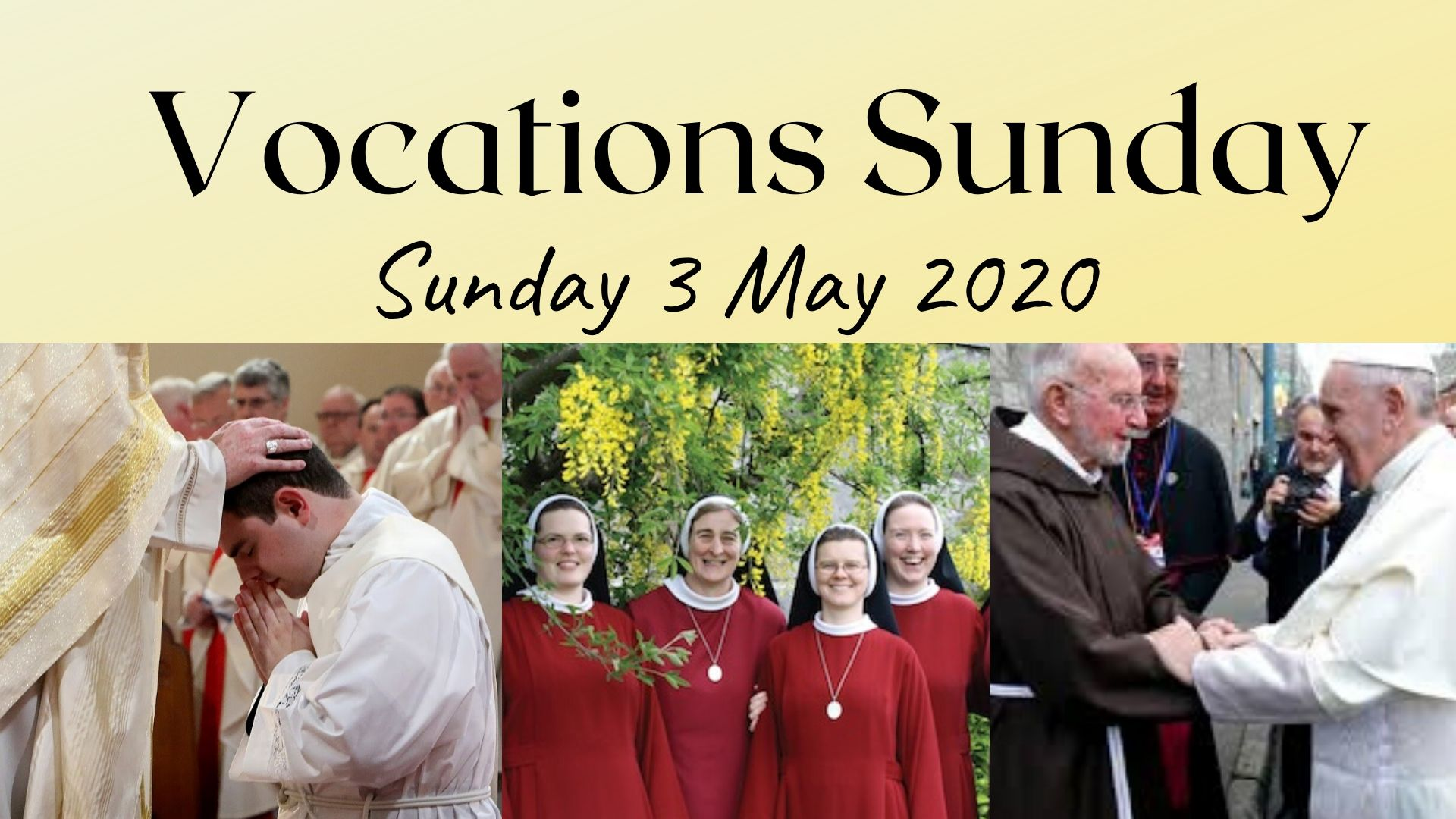 Vocations Sunday 2020
